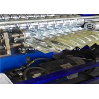 China Aluminum Corrugated Metal Roofing Roll Former 5.5Kw Driving Motor Logo Embossment on sale