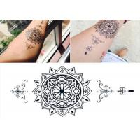 China Full Arm Waterproof Temporary Arm Tattoo Stickers For Women / Men wholesale