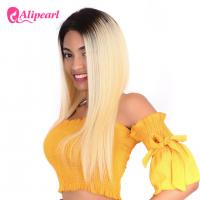Buy cheap 1B/613 Blonde Full Lace Human Hair Wigs With Baby Hair Silky Straight from wholesalers