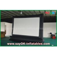 Quality 5 X 3m Oxford Cloth Outdoor Inflatable Billboard Movie Screen for sale