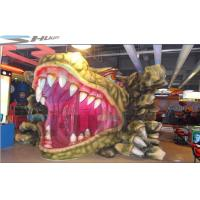 China Customized Mini Mobile 5D Cinema Dinosaur Box With Simulation System wholesale