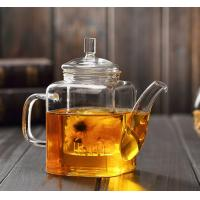 China Hot Selling 11oz 12oz Direct Fire Heating High Borosilicate Glass Brewing Teapot on sale