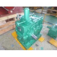 China Heavy duty ZLY series double stage cylindrical parallel shaft helical gearbox gear reduction manufacturers on sale