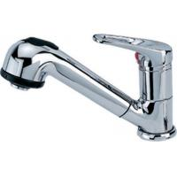 China Single Handle Brass Basin Tap Faucets With A Pull - Out Shower head on sale