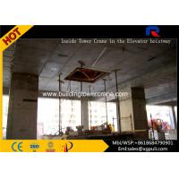 China High Efficiency Building Construction Machine , Topkit Tower Crane For Inside Building wholesale