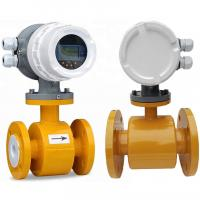 China Sea Water Liquid Control Electromagnetic Flow Meter For Fire Pump on sale