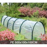 China PE Five Door In The Side Pop Up Greenhouse Tent Grow Tunnel For Plants And Flowers 13 KGS Each in an oxford wholesale