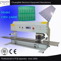 Buy cheap 600mm Cutting Length Automatic PCB Separator with One Circular Blade and One Linear Blade from wholesalers