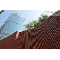 China Architectural Terracotta Facade Panels Systems Panels And Baguette Easy Installation wholesale