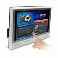 China Anti - static anti - scratch computer touch screen Digital  public information all in one kiosk for Banks wholesale