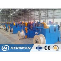 China High Speed Horizontal Wire Taping Machine , Fire Resistance Cable Making Machine wholesale