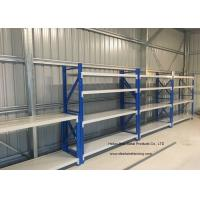 China Four Layers Middle Duty Garage Heavy Duty Shelving Adjustable Storage Shelves wholesale