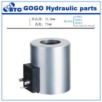 Buy cheap Vickers hydraulic solenoid valve coil DG4V-3 for concrete pump , Z8-120YC from wholesalers