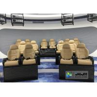 China Attractive 5D Mobile Movie Theater Fiber Glasses Structure 3.75 KW 380V wholesale