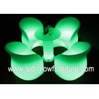 China Waterproof illuminated Led Sofa and chair With Chargeable lithium battery For Bar wholesale