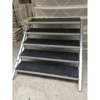 Quality 6082 - T6 Outdoor Plywood Aluminium Work Platform 1.22 X 1.22m With Ladder for sale