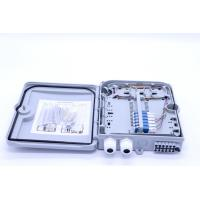China 12 Cores ABS Fiber Optic Distribution Box Splitter ABS Material ISO Approval wholesale