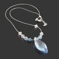 China Fashionable Necklace with Crystal Beads, Available in Various Designs wholesale