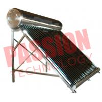 China 200L Economical Vacuum Tube Solar Water Heater System Compact Structure wholesale