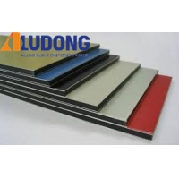 China Fireproof 6mm PVDF Aluminum Composite Panel For Cladding wholesale
