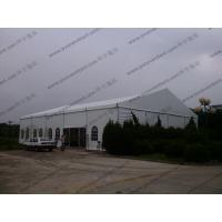 China Customized Width Aluminum Frame and PVC White Cear Span Badmintion Tents for Outside Sport Events wholesale