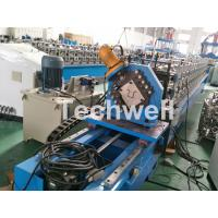 China Top Furring Channel Cold Roll Forming Machine With Continuous Servo Tracking Cutting wholesale