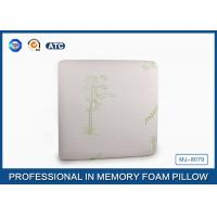 China Square Traditional Sleep Design Memory Foam Pillow For Bedding Home Decor on sale