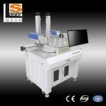 China Small Laser Marking Machine , Fiber Laser Marking System For Hardware wholesale