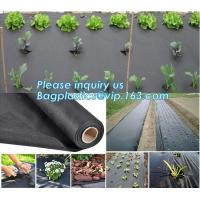 best quality agricultural weed barrie,UV stable Polypropylene woven fabric weed barrier,maintenance free anti weed mat,