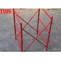 China Acrow Shoring H Frame Scaffolding System Powder Coated With Height 1800mm wholesale