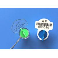 China Twist Rotor Electricity Meter Seals Meter Accessories With Barcode Poly Carbonate wholesale