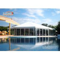 China Custom Outside Party Tent Marquee Large White Tents For Weddings wholesale