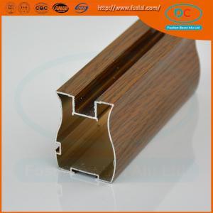 China Customer 6000 Matt aluminum wardrobe profile, wardrobe profile,SS brush aluminum profile wholesale