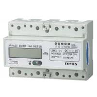 China RS485 Modbus Three Phase Energy Meters ,  Electronic kWH Meter With CT operated wholesale