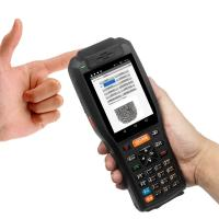 4GB Industrial Barcode Scanner 7.4V 3400mAH Lithium Battery With Thermal Printer