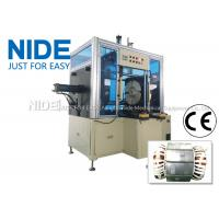 China Long Stack Length Pump Stator Coil Forming Machine Horizontal Type wholesale