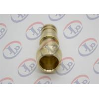 China ø14*34 Mm Copper CNC Turned Parts Unthreaded Male Union Nipple For Sanitary Ware wholesale