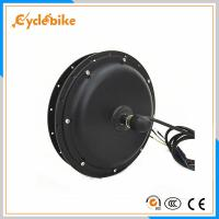High Speed 1000w 48v Geared Brushless Dc Motor For Electric Bike Conversion Kits