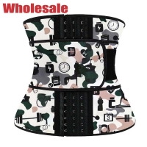 China 3XS Waist Cincher NANBIN Waist Trainer With Hooks Zipper And Straps wholesale