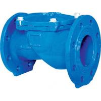 China 1.5 Inch Rubber Disc Water Supply Ductile IronCheck Valve Swing BS EN12334 PN10 wholesale