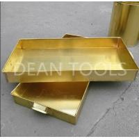 Buy cheap Non sparking tank tray , brass or copper material 120*120*50mm, 100*50*150mm from wholesalers