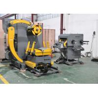 China Automatic Sheet Metal Coil Decoiler Straightener Feeder For Automotive Stamping Parts on sale