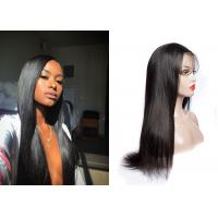 China Smooth Human Hair Lace Front Wigs , QueenLife Raw Remy Hair Lace Front Wigs wholesale
