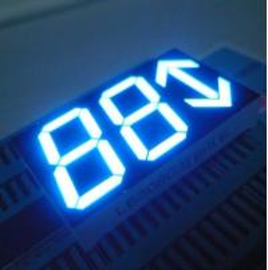 China Custom Arrow 3 Digit LED Seven Segment Display For Elevator Position Indicator 0.8 Inch wholesale