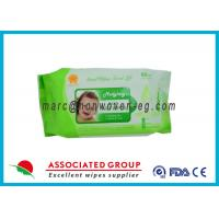 China Portable Individually Wrapped Baby Wipes Organic Family Pack 80Pcs wholesale