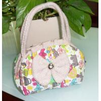 China Small Cosmetic Bag with Beautiful Logo wholesale