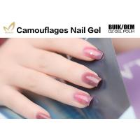 China Private Label Camouflage Nail Gel Salon / Professional Builder Gel Chemical Free wholesale