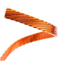 China Different Size Flat / Rectangular Litz Wire , Multiple Stranded Magnet Wire For Inverters wholesale