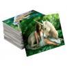 Buy cheap 75PI 0.45MM PET lenticular 3D lenticular printing glitter postcard /3D from wholesalers