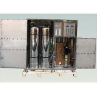 China Industrial RO Water Treatment System , 1TPH Containerized Water Treatment Plant wholesale